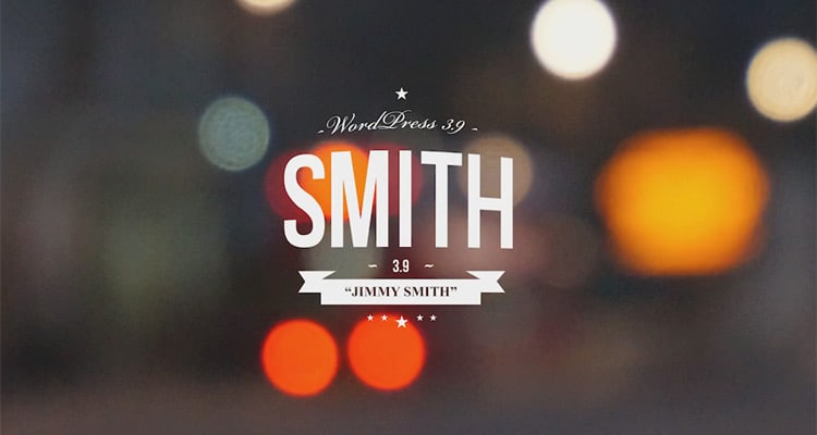 WordPress 3.9 Smith is here