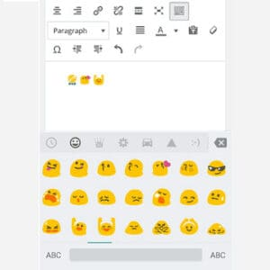 WordPress 4.2 Powell - Emojis ikoner