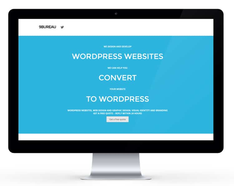 9bureau.dk delivers WordPress websites