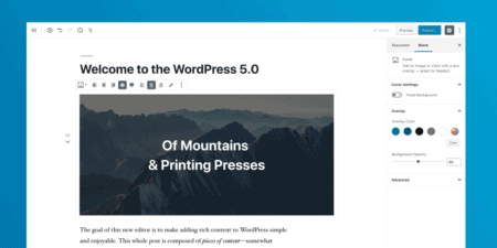 Is Gutenberg a good idea? WordPress 5.0 Release Candidate 2 - 9bureau.dk