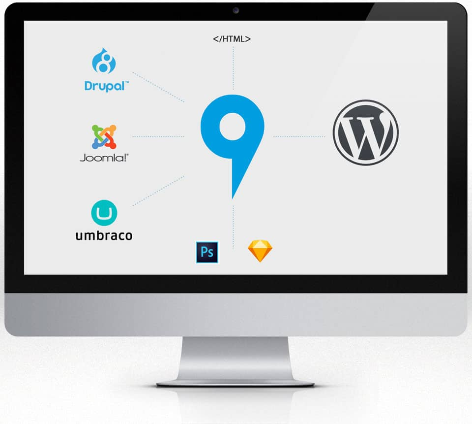 Conversion to WordPress by 9bureau