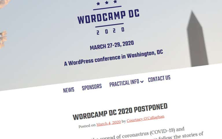 WordCamp cancellations are spreading