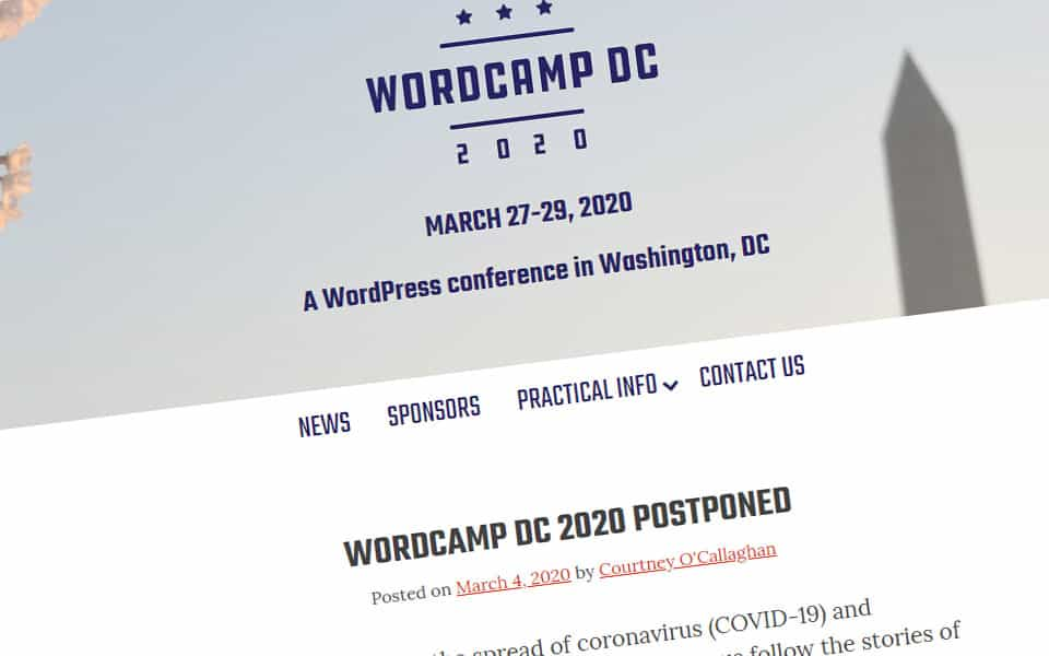 WordCamp cancellations are spreading - 9bureau.dk