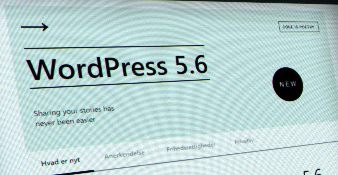 WordPress 5.6 Simone - 9bureau.dk