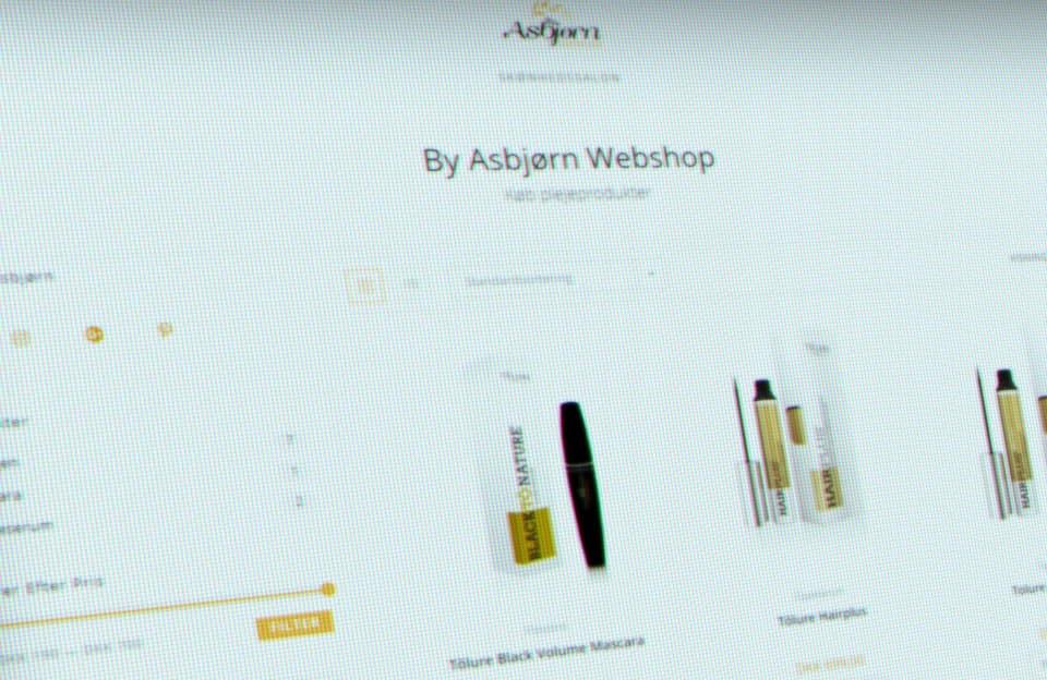 Ny webshop til By Asbjørn fra 9bureau